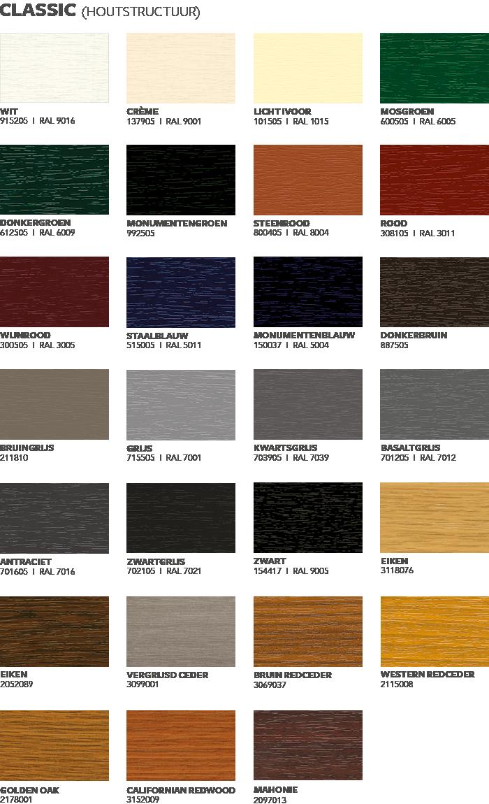 keralit classic kleuren