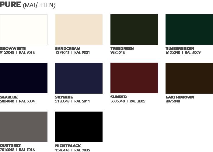 keralit pure kleuren
