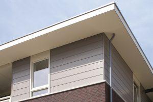 Keralit gevelbekleding sponningdeel 190 grijs modern huis