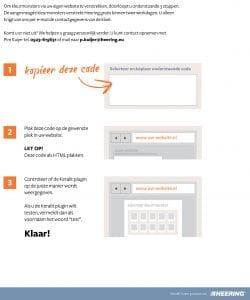 Instructies Keralit PlugIn
