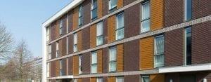 Keralit 143 gevelbekleding appartementen